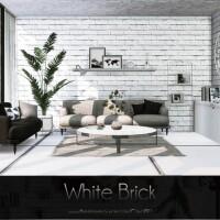 White Brick wall by Caroll91