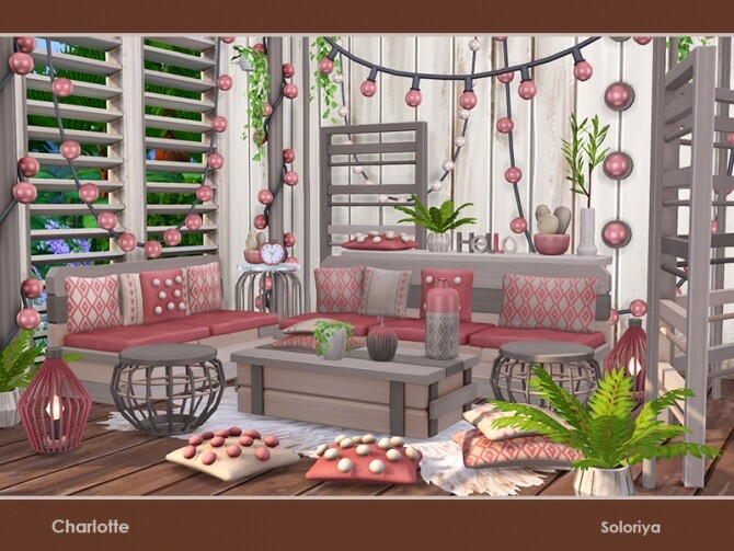 Charlotte living room by soloriya at TSR image 52 670x503 Sims 4 Updates