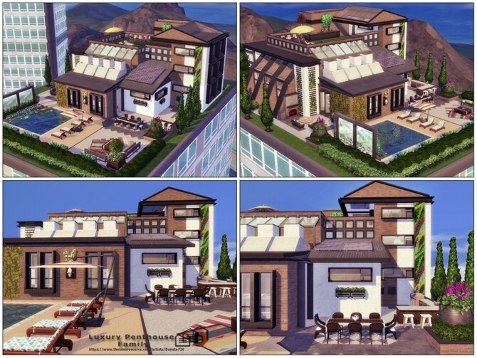 Luxury Penthouse Family by Danuta720 at TSR image 5220 670x503 Sims 4 Updates