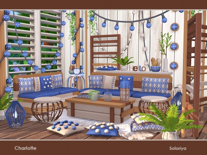 Charlotte living room by soloriya at TSR image 53 670x503 Sims 4 Updates