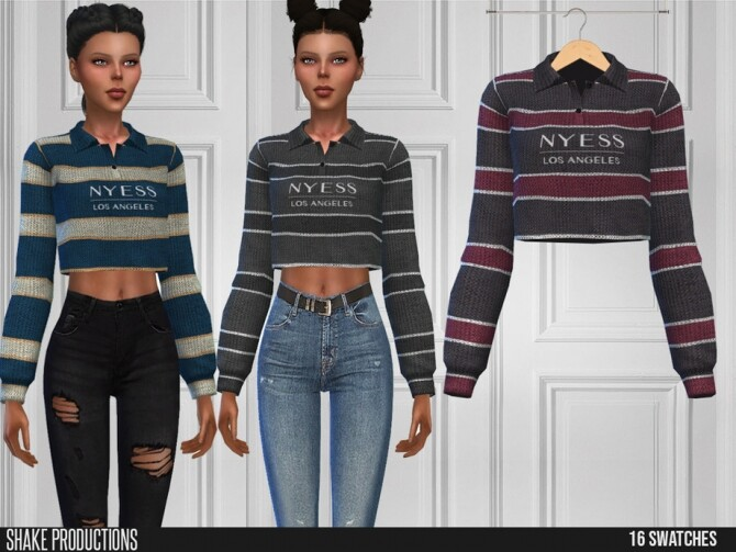 Sims 4 517 Top by ShakeProductions at TSR