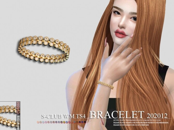 Bracelet 202012 by S Club WM at TSR image 5315 670x503 Sims 4 Updates
