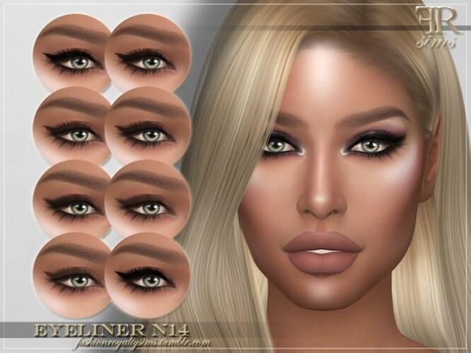 FRS Eyeliner N14 by FashionRoyaltySims