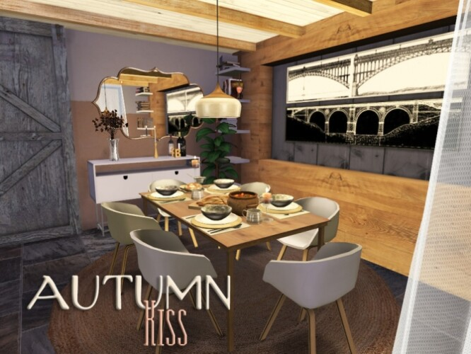 Autumn Kiss dining room by fredbrenny
