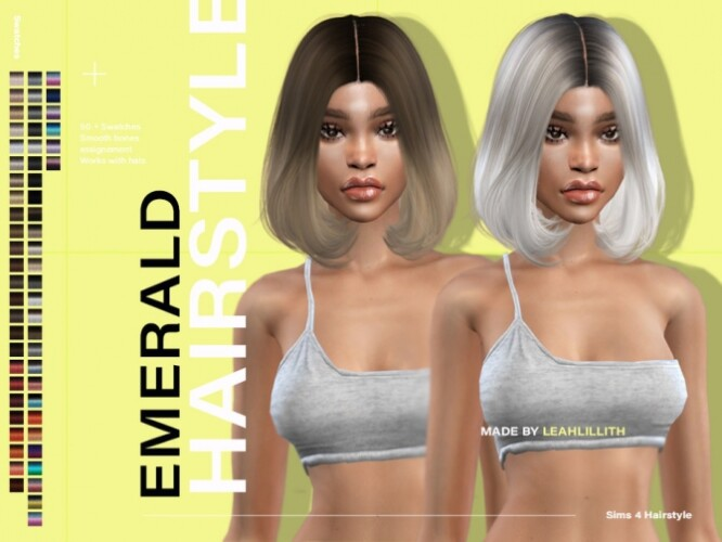 Emerald Hairstyle by LeahLillith