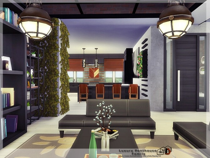Luxury Penthouse Family by Danuta720 at TSR image 5419 670x503 Sims 4 Updates