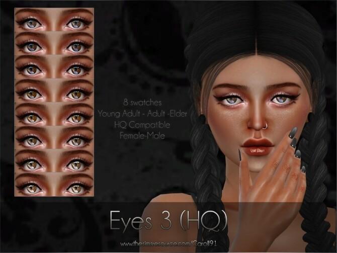 Sims 4 Eyes 3 HQ by Caroll91 at TSR