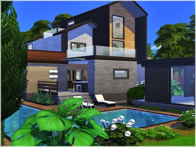 Sims 4 Greta house by Ray Sims at TSR