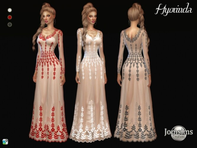 Hyorinda dress by  jomsims
