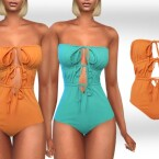Front Tied Swimsuits by Saliwa