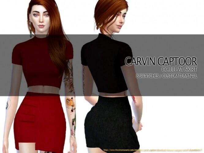 Ullza Skirt by carvin captoor