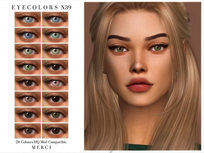 Sims 4 Eyecolors N39 by Merci at TSR