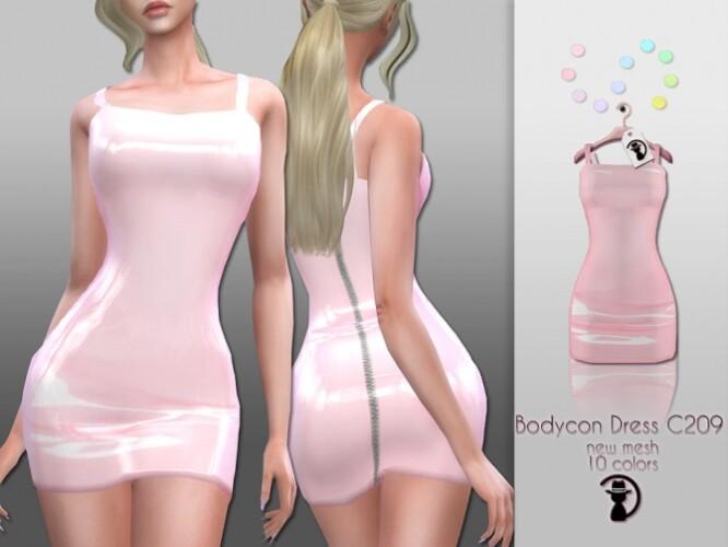 Bodycon Dress C209 by turksimmer