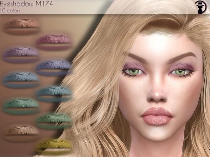 Sims 4 Eyeshadow M174 by turksimmer at TSR