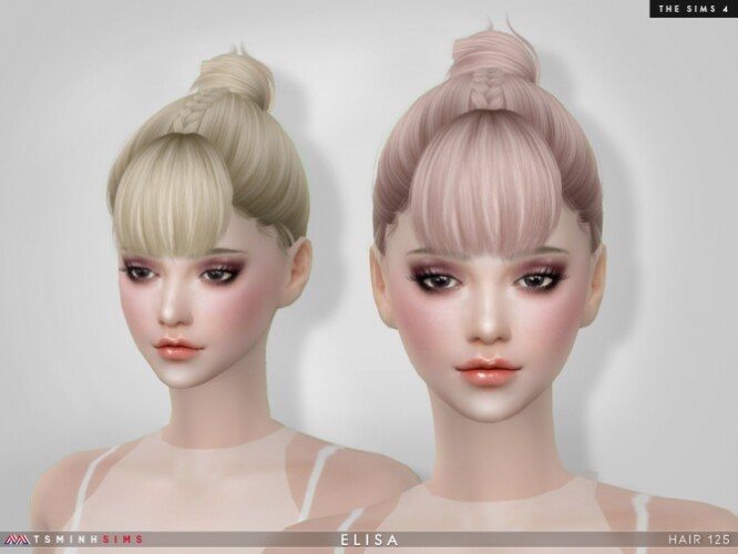 Elisa Hair 125 by TsminhSims
