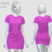 DRESS N 216 by pizazz