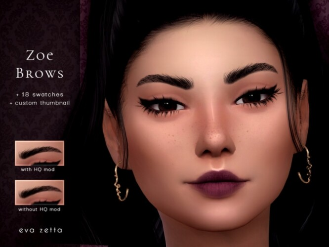 Zoe Eyebrows by Eva Zetta