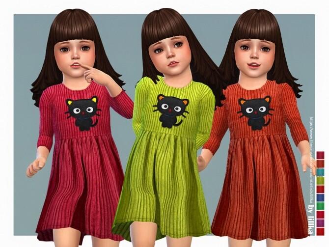 Iva Dress by lillka at TSR image 599 670x503 Sims 4 Updates