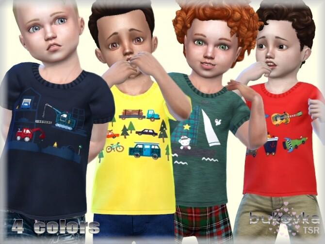 Sims 4 Shirt Toddler Male by bukovka at TSR