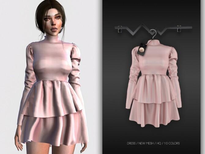 Sims 4 Dress BD324 by busra tr at TSR