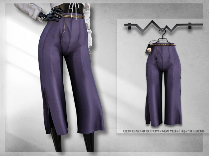 Clothes SET 81 (BOTTOM) BD314 by busra tr at TSR image 6113 670x503 Sims 4 Updates