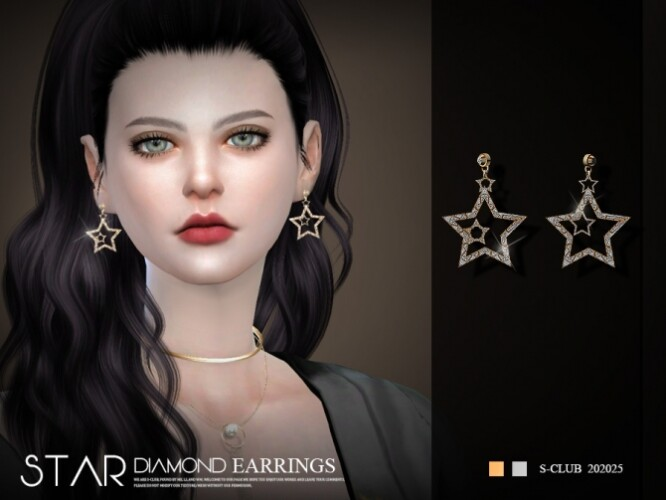 EARRINGS 20225 by S-Club LL