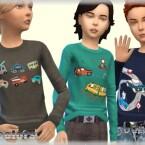 T-Shirt for boys by bukovka