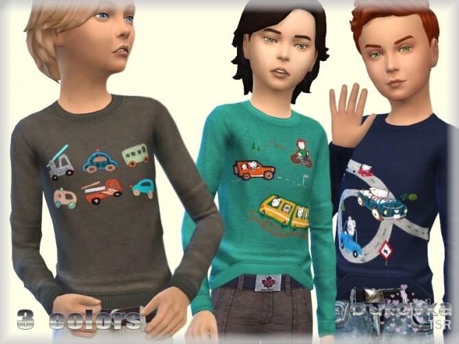 T Shirt for boys by bukovka at TSR image 6317 670x503 Sims 4 Updates