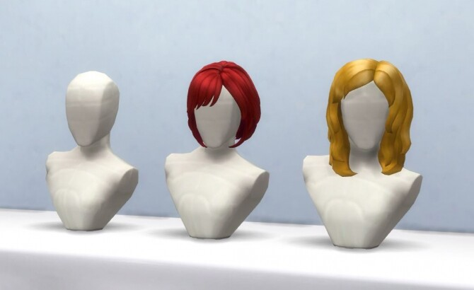 Wilmas Wig Stand 3 versions by horresco