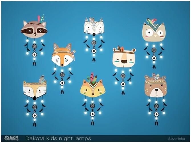 Dakota kids night lamps by Severinka at TSR image 6320 670x503 Sims 4 Updates