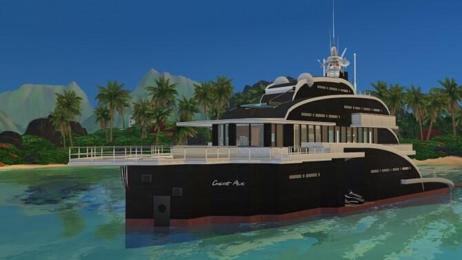 Gorgona yacht No CC by PinkCherub