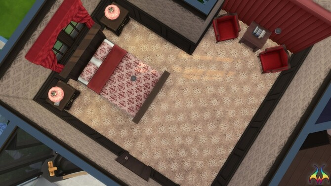 Sims 4 True Ambition Textured Patterned Carpet by Wykkyd at Mod The Sims