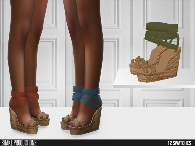 Sims 4 513 High Heels by ShakeProductions at TSR