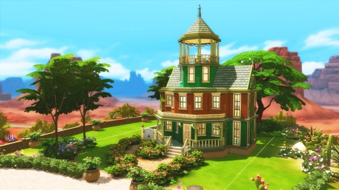 Colorful Family Home by simbunnyRT