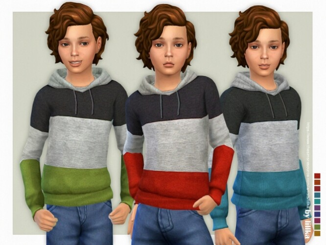Hoodie for Boys P20 by lillka