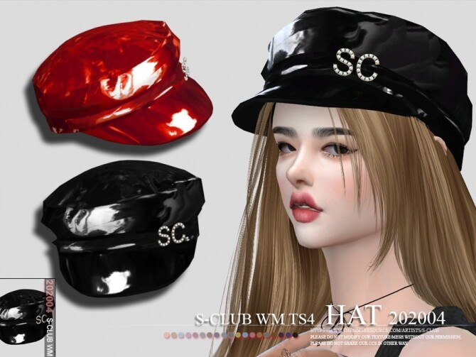 Hat 202004 by S Club WM at TSR image 654 670x503 Sims 4 Updates