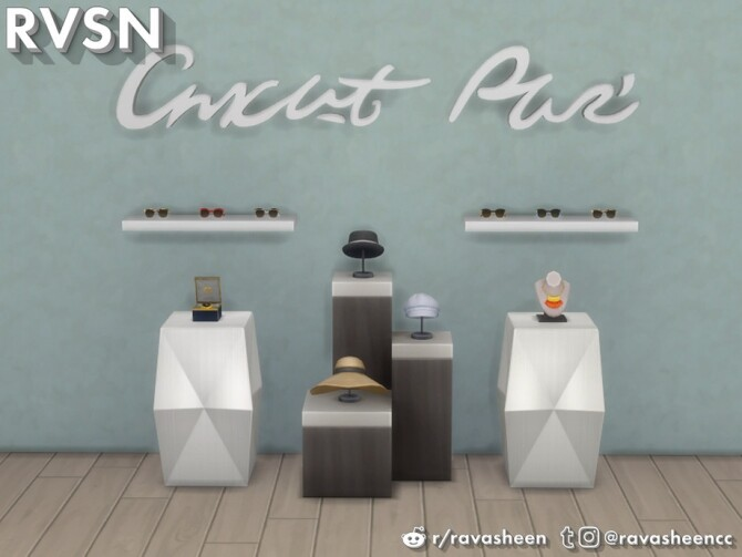 Sims 4 Clothes Minded Accessories by RAVASHEEN at TSR