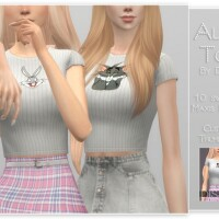 Alice Top by Dissia