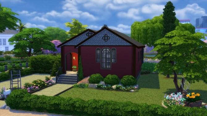 Crimson Niche Home by Wykkyd