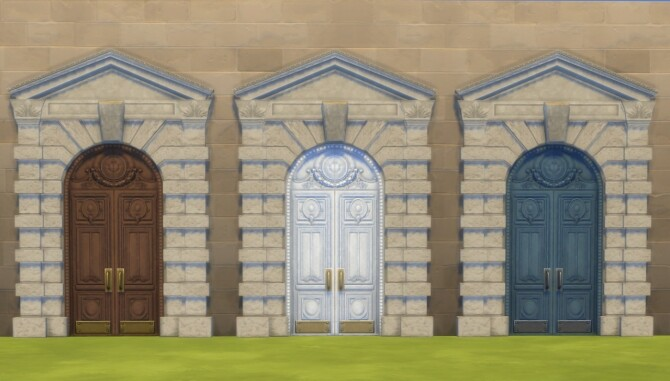 Tuition Dollars Door Recolour by Nutter Butter 1 at Mod The Sims image 678 670x381 Sims 4 Updates