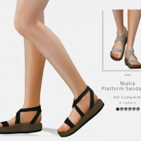 Niella Platform Sandals V2 by DarkNighTt