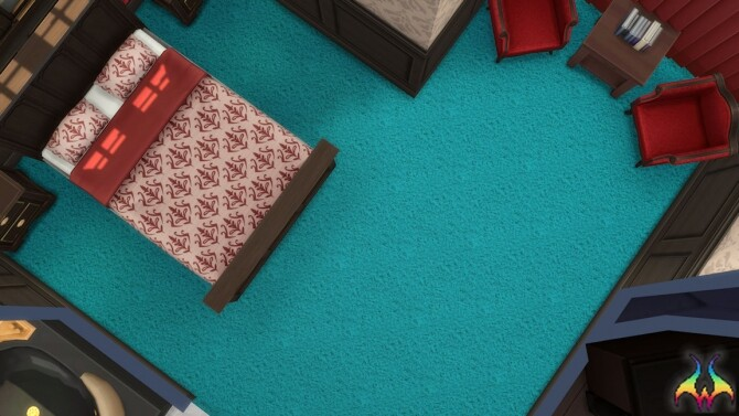 Earthbound Twisted and Looped Carpeting by Wykkyd at Mod The Sims image 687 670x377 Sims 4 Updates