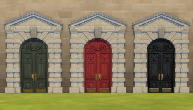 Tuition Dollars Door Recolour by Nutter Butter 1 at Mod The Sims image 689 670x381 Sims 4 Updates