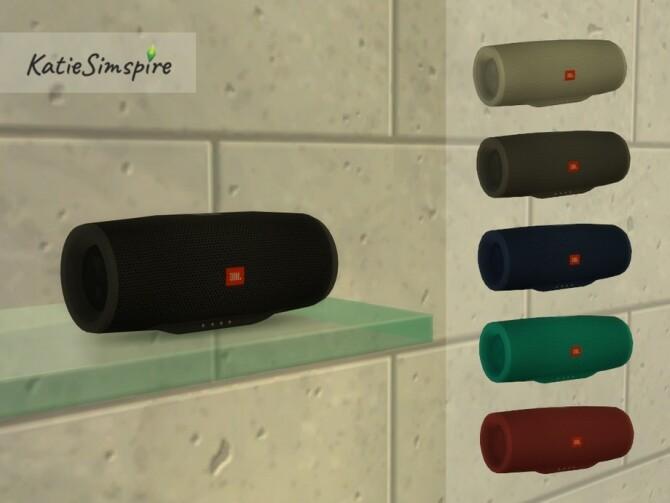 Sims 4 JBL Speaker by Katiesimspire at TSR
