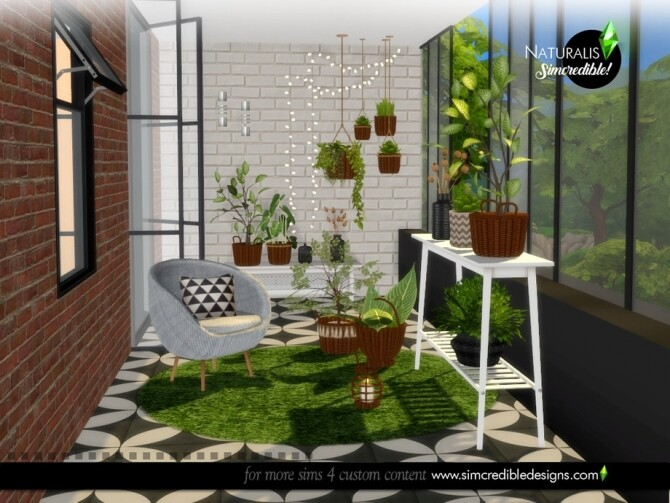 Naturalis Plants by SIMcredible at TSR image 7015 670x503 Sims 4 Updates