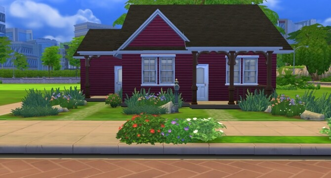 Sims 4 Tranquil Crab Cottage by WynterSoldier at Mod The Sims