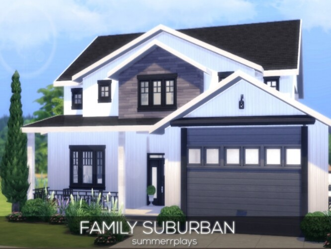 Family Suburban Home by Summerr Plays