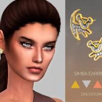 Simba Earrings by DailyStorm