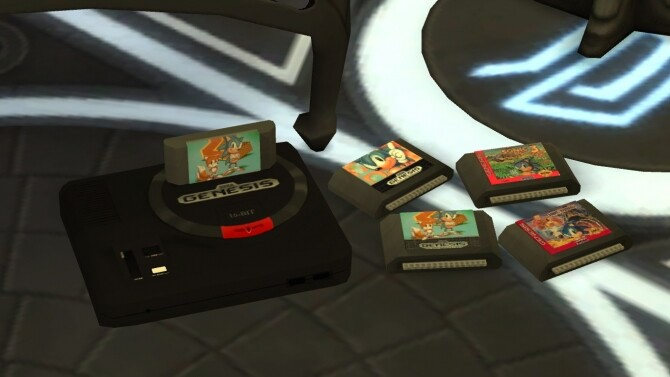 Working SEGA Genesis/Mega Drive console by LightningBolt at Mod The Sims image 7121 670x377 Sims 4 Updates