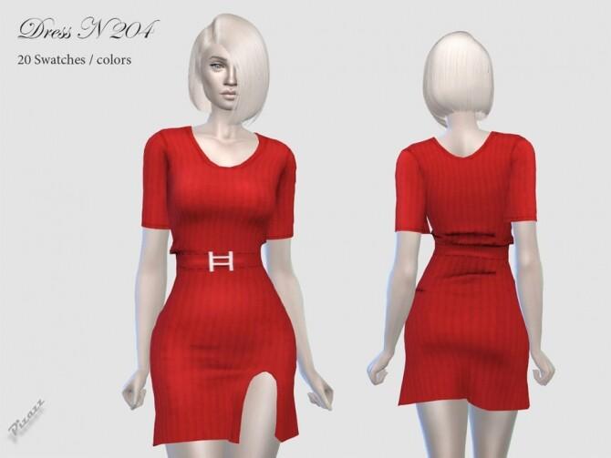Sims 4 Dress N 204 by pizazz at TSR
